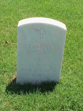 MCCLAIN (VETERAN WWII), SAMUEL - Pulaski County, Arkansas | SAMUEL MCCLAIN (VETERAN WWII) - Arkansas Gravestone Photos