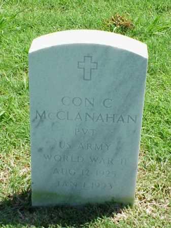 MCCLANAHAN (VETERAN WWII), CON C - Pulaski County, Arkansas | CON C MCCLANAHAN (VETERAN WWII) - Arkansas Gravestone Photos
