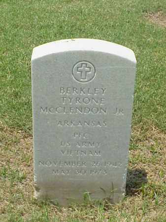 MCCLENDON, JR (VETERAN VIET), BERKLEY TYRONE - Pulaski County, Arkansas | BERKLEY TYRONE MCCLENDON, JR (VETERAN VIET) - Arkansas Gravestone Photos