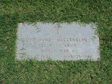 MCCLERKLIN, JR (VETERAN WWII), FLOYD JAMES - Pulaski County, Arkansas | FLOYD JAMES MCCLERKLIN, JR (VETERAN WWII) - Arkansas Gravestone Photos