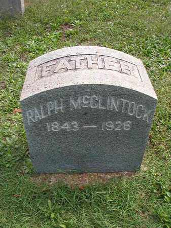 MCCLINTOCK, RALPH - Pulaski County, Arkansas | RALPH MCCLINTOCK - Arkansas Gravestone Photos