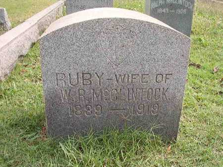 MCCLINTOCK, RUBY - Pulaski County, Arkansas | RUBY MCCLINTOCK - Arkansas Gravestone Photos