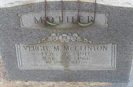 MCCLINTON, VIRGIE M - Pulaski County, Arkansas | VIRGIE M MCCLINTON - Arkansas Gravestone Photos