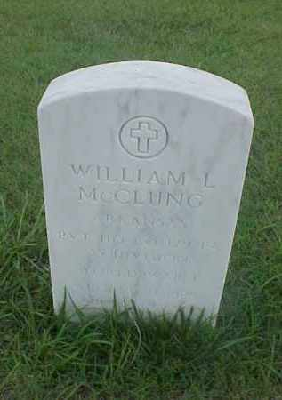 MCCLUNG (VETERAN WWI), WILLIAM L - Pulaski County, Arkansas | WILLIAM L MCCLUNG (VETERAN WWI) - Arkansas Gravestone Photos