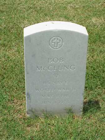 MCCLUNG (VETERAN WWII), BOB - Pulaski County, Arkansas | BOB MCCLUNG (VETERAN WWII) - Arkansas Gravestone Photos