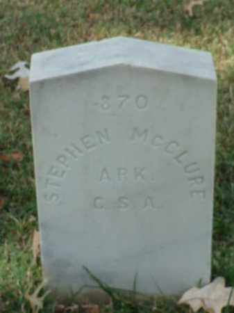 MCCLURE (VETERAN CSA), STEPHEN - Pulaski County, Arkansas | STEPHEN MCCLURE (VETERAN CSA) - Arkansas Gravestone Photos