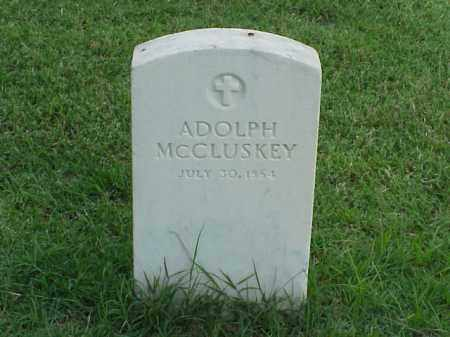 MCCLUSKEY (VETERAN UNION), ADOLPH - Pulaski County, Arkansas | ADOLPH MCCLUSKEY (VETERAN UNION) - Arkansas Gravestone Photos