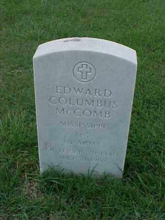 MCCOMB (VETERAN VIET), EDWARD COLUMBUS - Pulaski County, Arkansas | EDWARD COLUMBUS MCCOMB (VETERAN VIET) - Arkansas Gravestone Photos