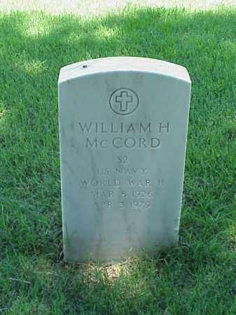 MCCORD (VETERAN WWII), WILLIAM H - Pulaski County, Arkansas | WILLIAM H MCCORD (VETERAN WWII) - Arkansas Gravestone Photos