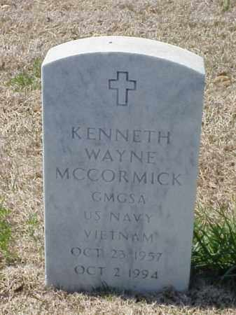 MCCORMICK (VETERAN VIET), KENNETH WAYNE - Pulaski County, Arkansas | KENNETH WAYNE MCCORMICK (VETERAN VIET) - Arkansas Gravestone Photos
