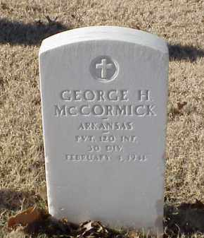 MCCORMICK (VETERAN WWI), GEORGE H - Pulaski County, Arkansas | GEORGE H MCCORMICK (VETERAN WWI) - Arkansas Gravestone Photos