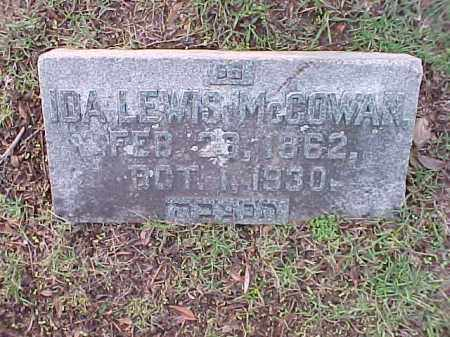 MCCOWAN, IDA - Pulaski County, Arkansas | IDA MCCOWAN - Arkansas Gravestone Photos