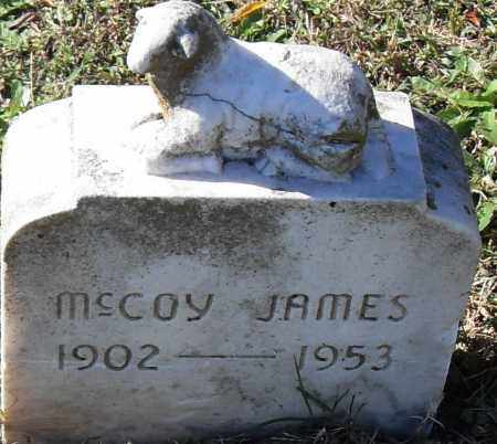 MCCOY, JAMES - Pulaski County, Arkansas | JAMES MCCOY - Arkansas Gravestone Photos