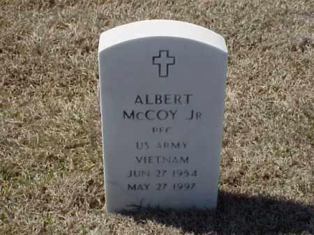 MCCOY, JR. (VETERAN VIET), ALBERT - Pulaski County, Arkansas | ALBERT MCCOY, JR. (VETERAN VIET) - Arkansas Gravestone Photos