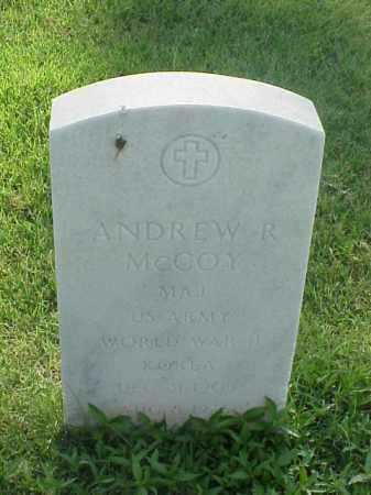 MCCOY (VETERAN 2 WARS), ANDREW R - Pulaski County, Arkansas | ANDREW R MCCOY (VETERAN 2 WARS) - Arkansas Gravestone Photos