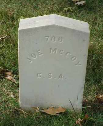 MCCOY (VETERAN CSA), JOE - Pulaski County, Arkansas | JOE MCCOY (VETERAN CSA) - Arkansas Gravestone Photos