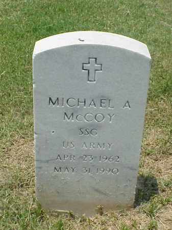 MCCOY (VETERAN), MICHAEL A - Pulaski County, Arkansas | MICHAEL A MCCOY (VETERAN) - Arkansas Gravestone Photos