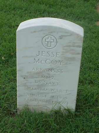 MCCOY (VETERAN WWI), JESSE - Pulaski County, Arkansas | JESSE MCCOY (VETERAN WWI) - Arkansas Gravestone Photos
