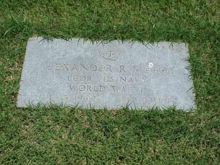 MCCOY (VETERAN WWII), ALEXANDER R - Pulaski County, Arkansas | ALEXANDER R MCCOY (VETERAN WWII) - Arkansas Gravestone Photos