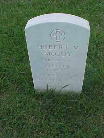 MCCOY (VETERAN WWII), HUBERT V - Pulaski County, Arkansas | HUBERT V MCCOY (VETERAN WWII) - Arkansas Gravestone Photos
