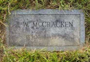 MCCRACKEN, JOHN WEBSTER - Pulaski County, Arkansas | JOHN WEBSTER MCCRACKEN - Arkansas Gravestone Photos