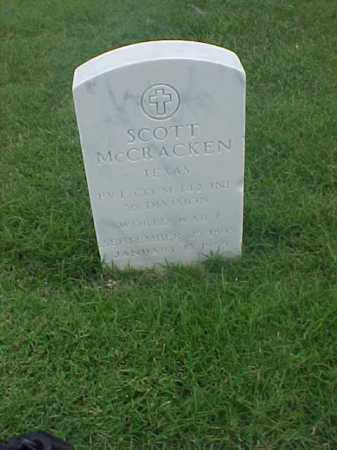 MCCRACKEN (VETERAN WWI), SCOTT - Pulaski County, Arkansas | SCOTT MCCRACKEN (VETERAN WWI) - Arkansas Gravestone Photos