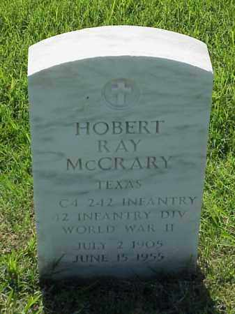 MCCRARY (VETERAN WWII), HOBERT RAY - Pulaski County, Arkansas | HOBERT RAY MCCRARY (VETERAN WWII) - Arkansas Gravestone Photos