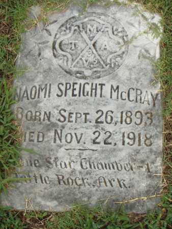 MCCRAY, NAOMI - Pulaski County, Arkansas | NAOMI MCCRAY - Arkansas Gravestone Photos