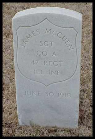 MCCUEN (VETERAN UNION), JAMES - Pulaski County, Arkansas | JAMES MCCUEN (VETERAN UNION) - Arkansas Gravestone Photos