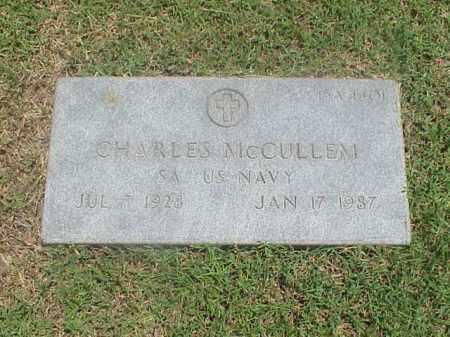MCCULLEM (VETERAN), CHARLES - Pulaski County, Arkansas | CHARLES MCCULLEM (VETERAN) - Arkansas Gravestone Photos