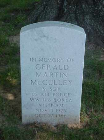 MCCULLEY (VETERAN 3 WARS), GERALD MARTIN - Pulaski County, Arkansas | GERALD MARTIN MCCULLEY (VETERAN 3 WARS) - Arkansas Gravestone Photos