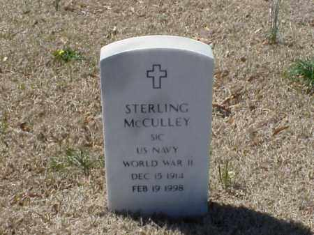 MCCULLEY (VETERAN WWII), STERLING - Pulaski County, Arkansas | STERLING MCCULLEY (VETERAN WWII) - Arkansas Gravestone Photos