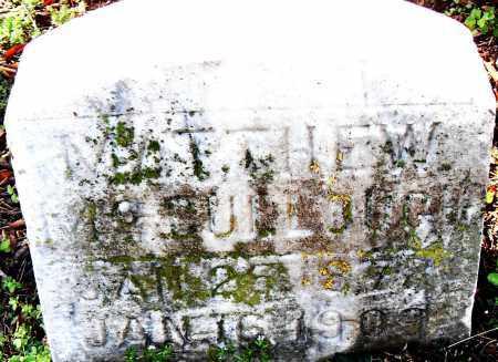MCCULLOUGH, MATTHEW - Pulaski County, Arkansas | MATTHEW MCCULLOUGH - Arkansas Gravestone Photos