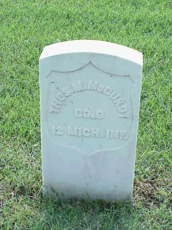 MCCURDY (VETERAN UNION), THOMAS M - Pulaski County, Arkansas | THOMAS M MCCURDY (VETERAN UNION) - Arkansas Gravestone Photos