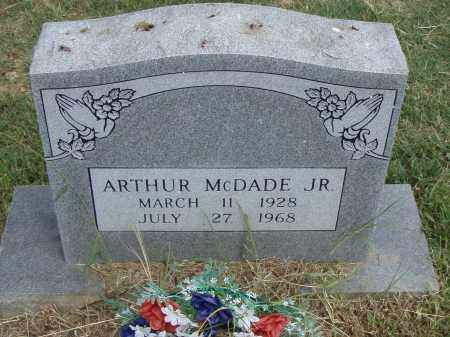 MCDADE,  JR., ARTHUR - Pulaski County, Arkansas | ARTHUR MCDADE,  JR. - Arkansas Gravestone Photos