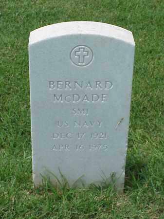 MCDADE (VETERAN), BERNARD - Pulaski County, Arkansas | BERNARD MCDADE (VETERAN) - Arkansas Gravestone Photos