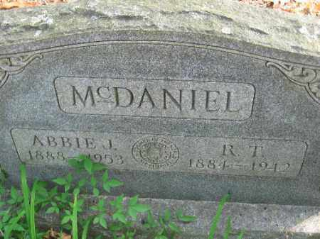 MCDANIEL, R.T. - Pulaski County, Arkansas | R.T. MCDANIEL - Arkansas Gravestone Photos