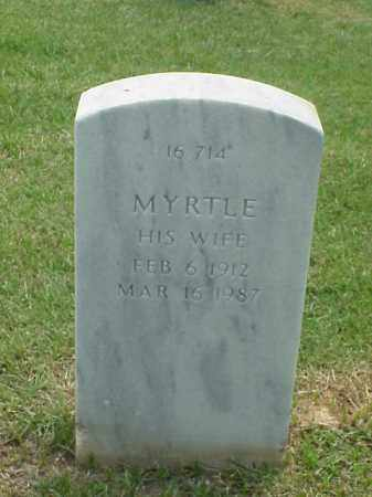 MCDANIEL, MYRTLE - Pulaski County, Arkansas | MYRTLE MCDANIEL - Arkansas Gravestone Photos