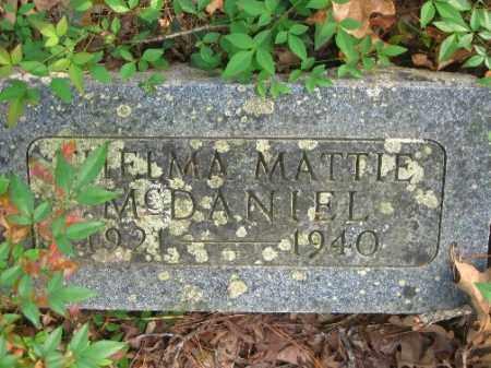 MCDANIEL, THELMA MATTIE - Pulaski County, Arkansas | THELMA MATTIE MCDANIEL - Arkansas Gravestone Photos