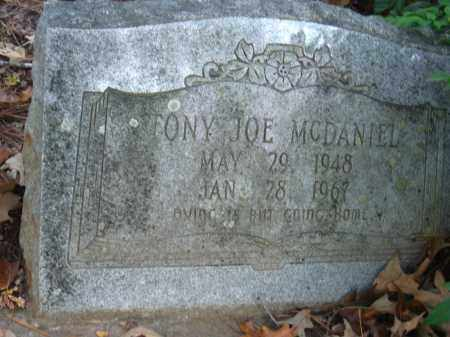 MCDANIEL, TONY JOE - Pulaski County, Arkansas | TONY JOE MCDANIEL - Arkansas Gravestone Photos