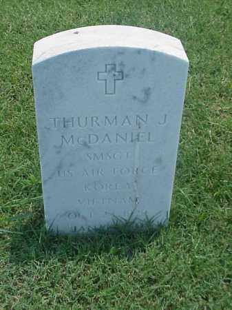 MCDANIEL (VETERAN 2 WARS), THURMAN J - Pulaski County, Arkansas | THURMAN J MCDANIEL (VETERAN 2 WARS) - Arkansas Gravestone Photos