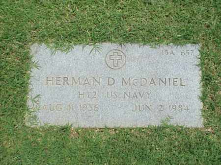 MCDANIEL (VETERAN), HERMAN D - Pulaski County, Arkansas | HERMAN D MCDANIEL (VETERAN) - Arkansas Gravestone Photos