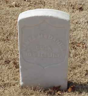 MCDANIEL (VETERAN UNION), JAMES - Pulaski County, Arkansas | JAMES MCDANIEL (VETERAN UNION) - Arkansas Gravestone Photos