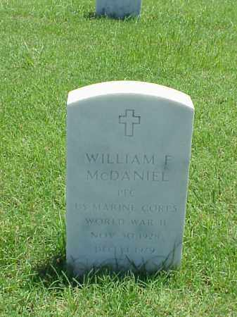 MCDANIEL (VETERAN WWII), WILLIAM F - Pulaski County, Arkansas | WILLIAM F MCDANIEL (VETERAN WWII) - Arkansas Gravestone Photos
