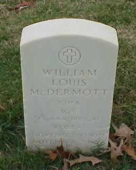 MCDERMOTT (VETERAN KOR), WILLIAM LOUIS - Pulaski County, Arkansas | WILLIAM LOUIS MCDERMOTT (VETERAN KOR) - Arkansas Gravestone Photos