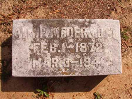 MCDERMOTT, WILLIAM P - Pulaski County, Arkansas | WILLIAM P MCDERMOTT - Arkansas Gravestone Photos