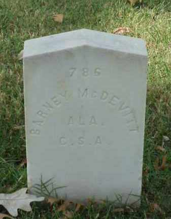 MCDEVITT (VETERAN CSA), BARNEY - Pulaski County, Arkansas | BARNEY MCDEVITT (VETERAN CSA) - Arkansas Gravestone Photos