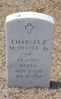 MCDIVITT, JR (VETERAN KOR), CHARLES E - Pulaski County, Arkansas | CHARLES E MCDIVITT, JR (VETERAN KOR) - Arkansas Gravestone Photos