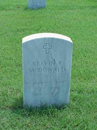 MCDONALD (VETERAN), KELVIN P - Pulaski County, Arkansas | KELVIN P MCDONALD (VETERAN) - Arkansas Gravestone Photos