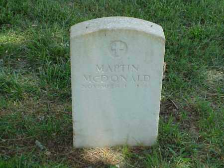 MCDONALD (VETERAN UNION), MARTIN - Pulaski County, Arkansas | MARTIN MCDONALD (VETERAN UNION) - Arkansas Gravestone Photos